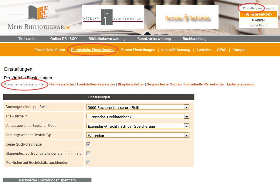 Standarddatenbank1